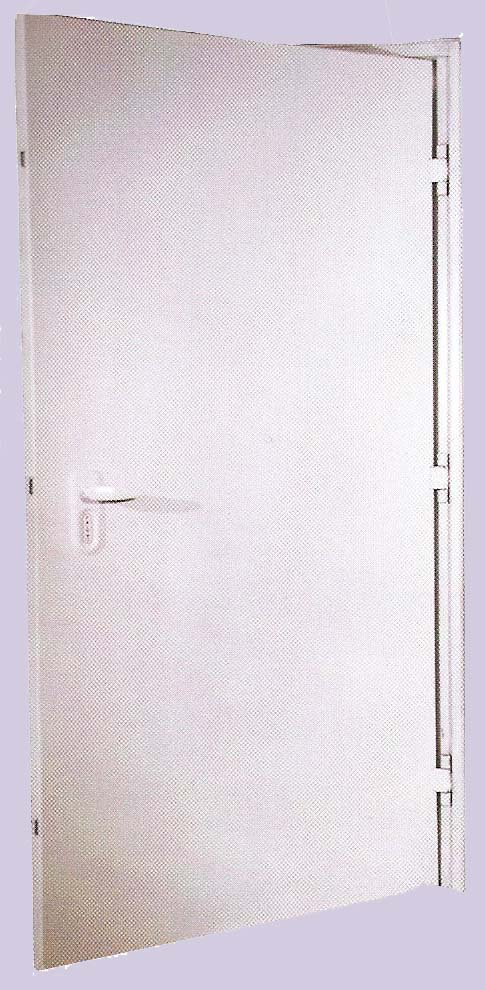 דלת מקלט במרכז